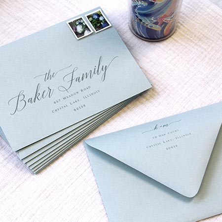 How To Properly Seal Wedding Envelopes