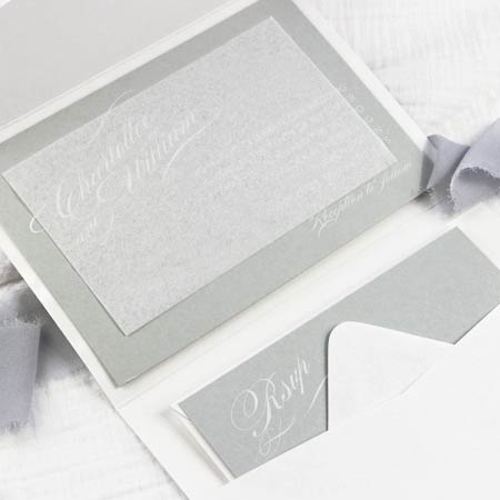 Tissue Paper Is Used In Wedding Invitations