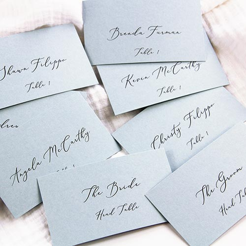 Flat Place Cards In 5 Easy Steps Free Place Card Template