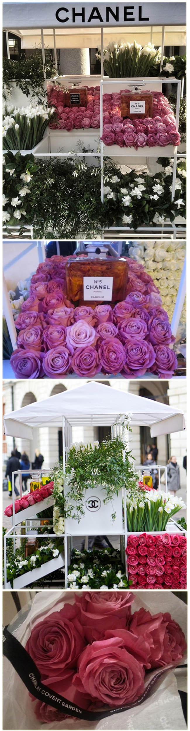 chanel, chanel dia das maes, pop up store chanel flowers, chanel perfumes, londres, dicas de londres