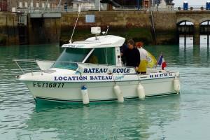 photo boyer bateau ecole