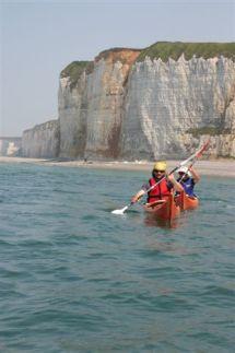 kayak-falaise
