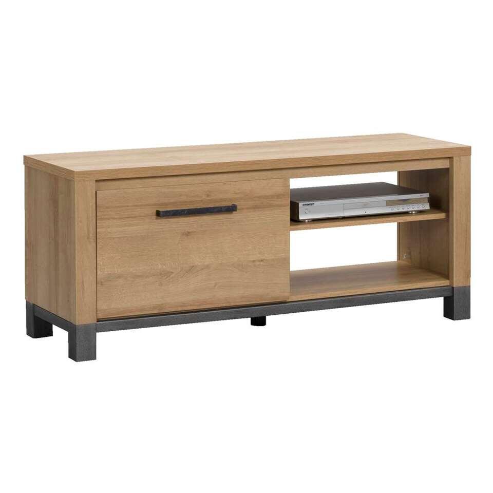 meuble tv finn chene clair 52x124x40 cm