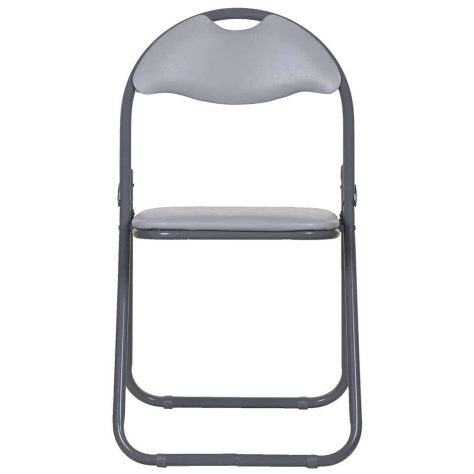 chaise pliante meppel grise