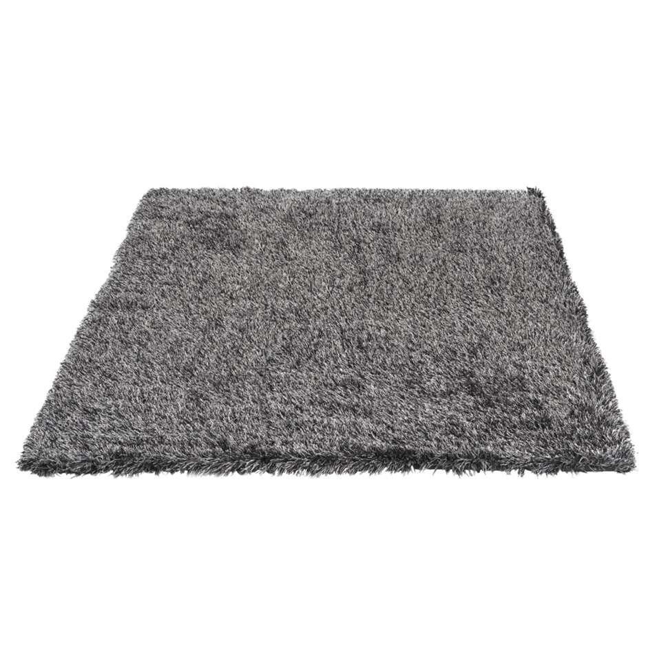 tapis new york noir gris 160x230 cm