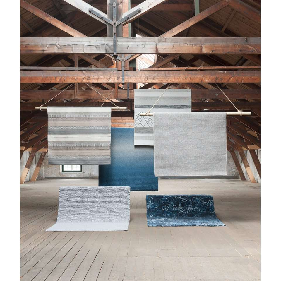 Tapijt Richness  grijsblauw  160x230 cm