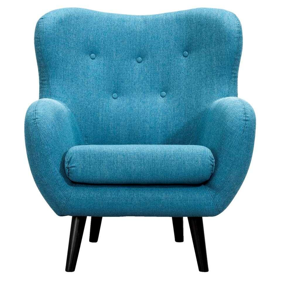 Fauteuil Viborg  stof  turquoise