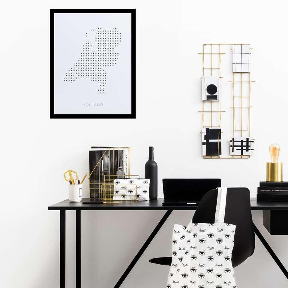 Eetkamertafel Julius  zwart  200x85 cm