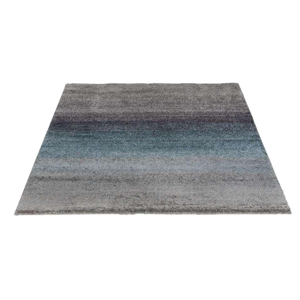 Vloerkleed Richness  grijsblauw  160x230 cm
