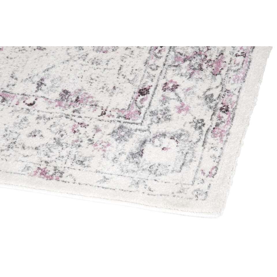 Vloerkleed Sevilla  witroze  160x230 cm