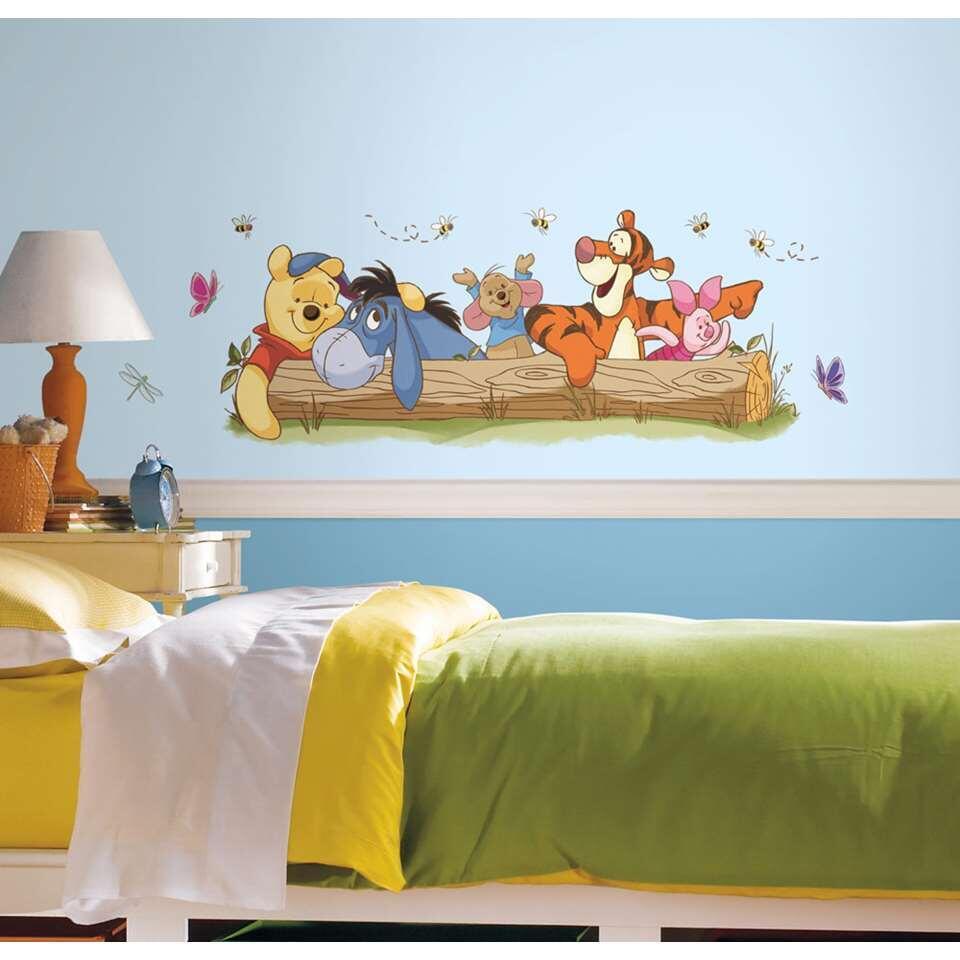 RoomMates muursticker Winnie de Pooh Figuren 46x13 cm