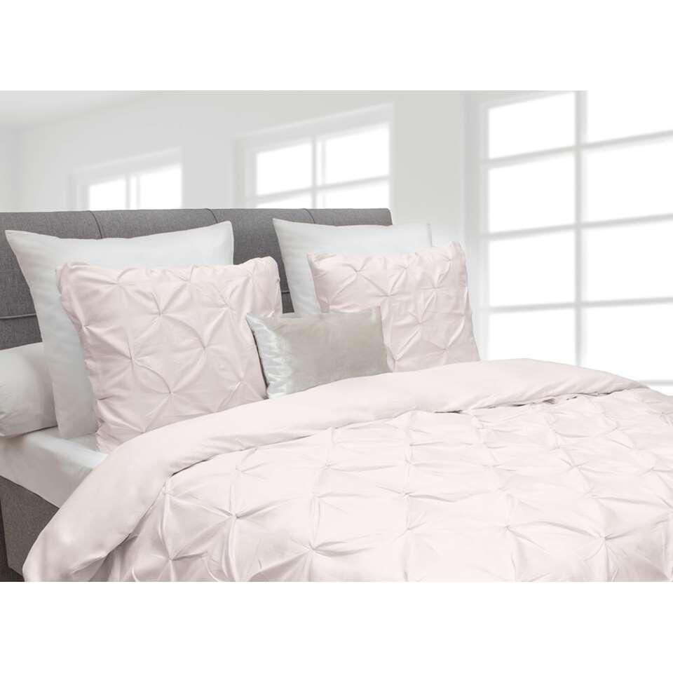 Heckett  Lane dekbedovertrek Cromer  roze  260x220 cm