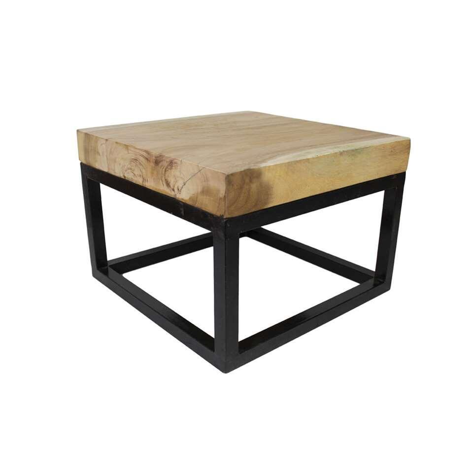 HSM Collection salontafel vierkant  munggurhout