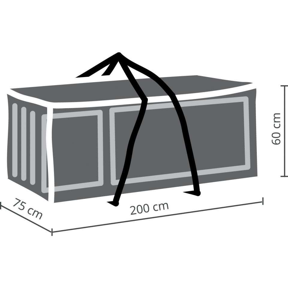 Outdoor Covers Premium kussentas  lounge kussens XL