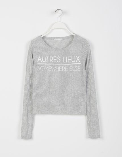 Lefties - camiseta canale print letras - 0-800 - 05032304-I2014