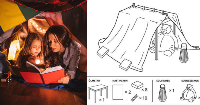 6 easy blanket fort ideas that every