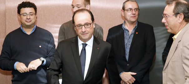 VIDEO. Florange: comment Hollande se défend d'avoir trahi ses promesses