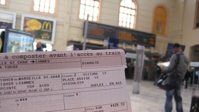 Comment revendre son billet de train  LExpress