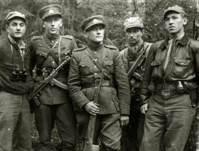 Литовские партизаны. Фото © Русская семерка