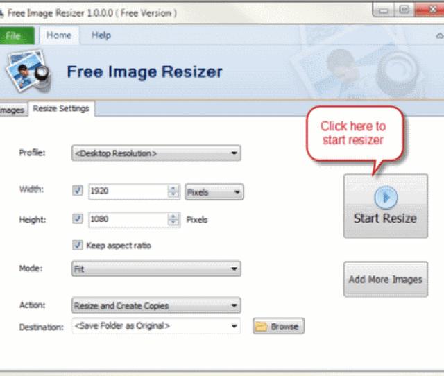 List Of Best Free Image Resizer