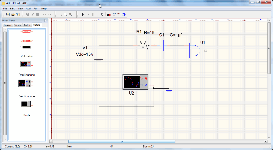Circuit Design Schematic