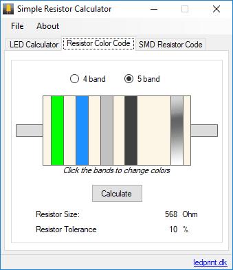 11 Best Free Resistor Color Code Calculator For Windows