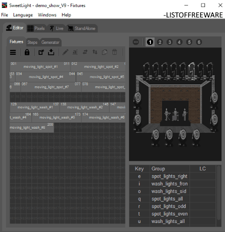 free stage lighting software for windows