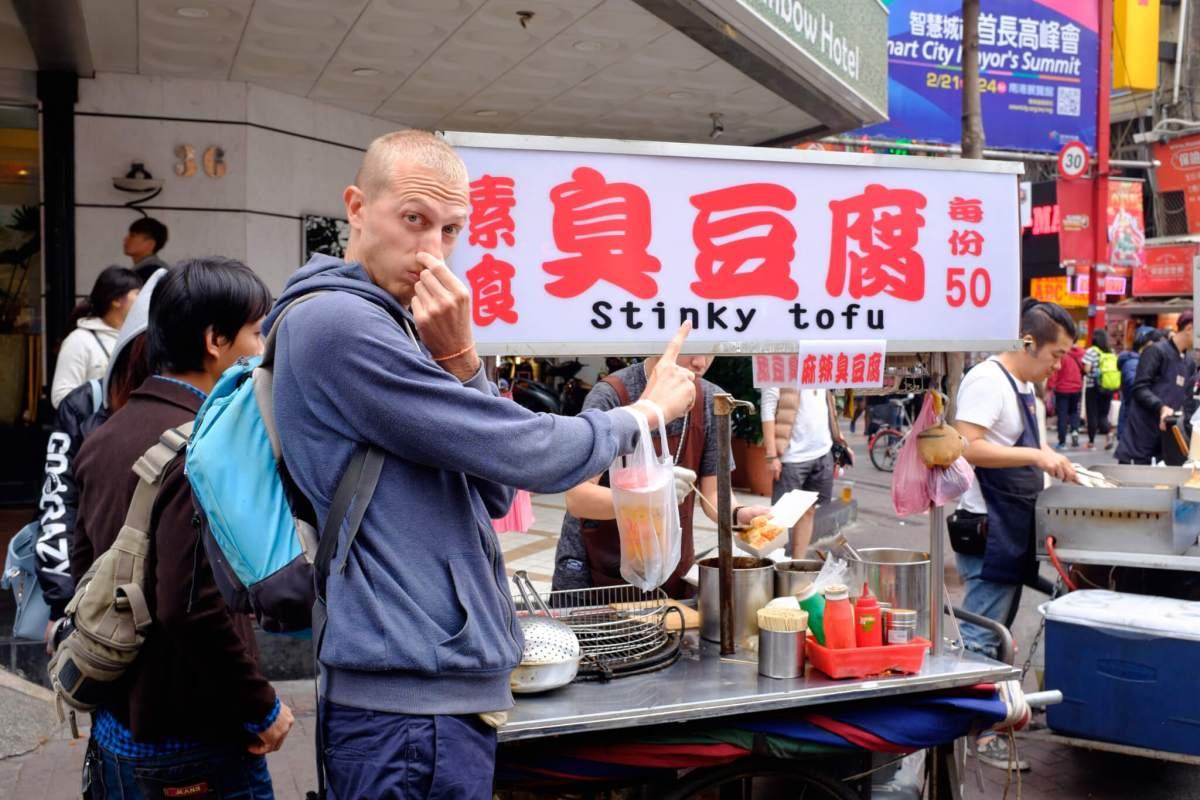 Le fameux Stinky Tofu