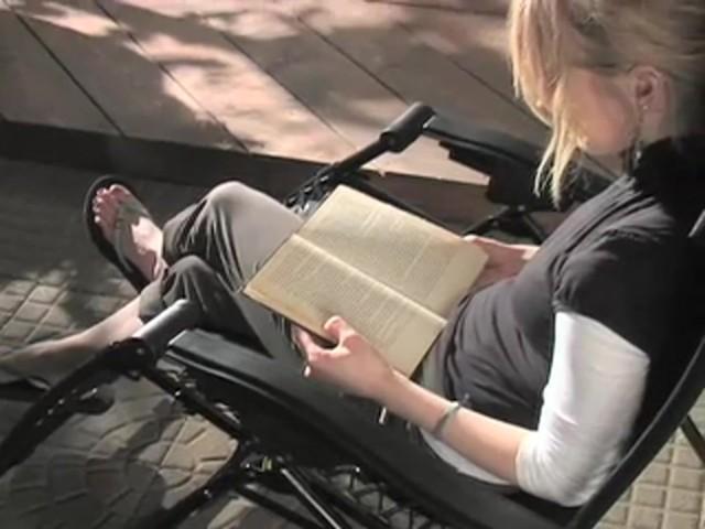 Zero Gravity Lounge Chair  Sportsmans Guide Video