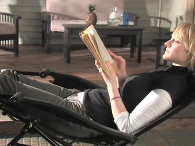 Zero Gravity Lounge Chair  Sportsmans Guide Video