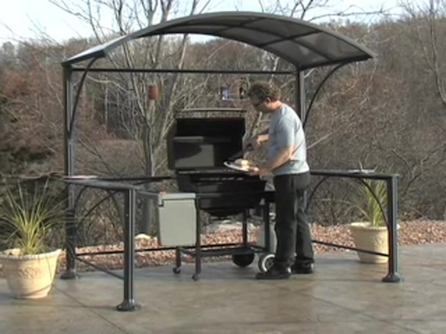 Guide Gear Backyard Grill Gazebo  WEB: LAWN & PATIO