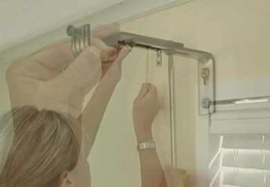How To Hang Curtains With Blinds