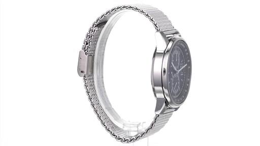 Men's Citizen Eco-Drive Mesh Chronograph Watch (Model