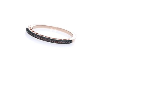 ZALES Enhanced Brown Diamond Accent Vintage-Style Anniversary Band in 10K Rose Gold. Women's. Size: regular » Shop Zales - America's diamond ...