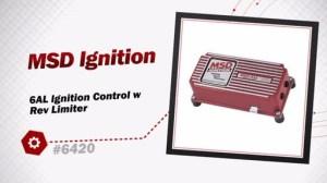 MSD Ignition 6AL Ignition Control w Rev Limiter 6420