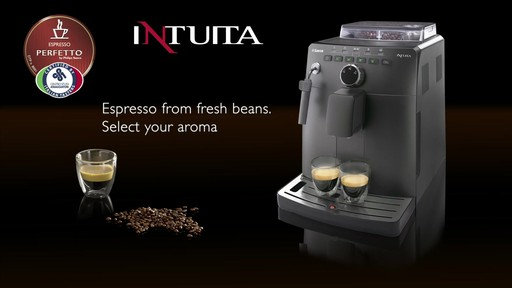 Saeco Intuita Automatic Espresso Machine  Video Gallery