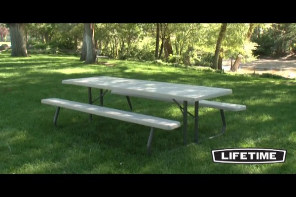 Lifetime 8 Folding Picnic Table Welcome To Costco Wholesale
