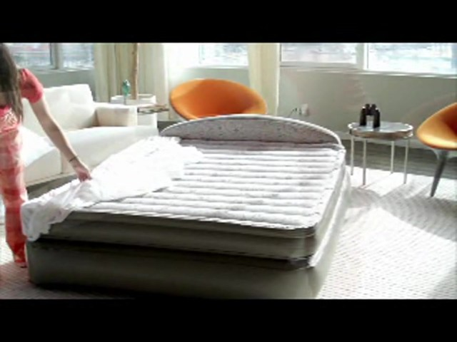 AeroBed 18 Queen Air Mattress with Headboard Design  Welcome to Costco Wholesale