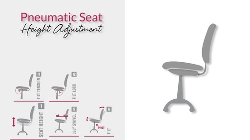 diagram of pneumatic office chair mixture elements and compounds safco flaunt series recycled leather mid back welcome to image 3 from the video