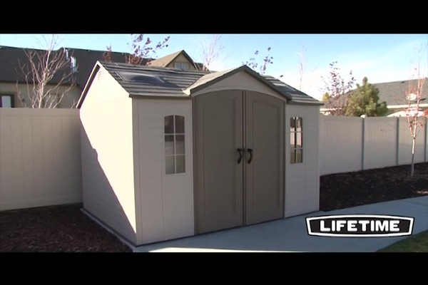 Lifetime 10 x 8 Side Entry Shed  Video Gallery
