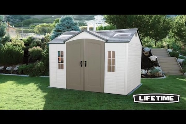 Lifetime 10 x 8 Side Entry Shed  Welcome to Costco Wholesale