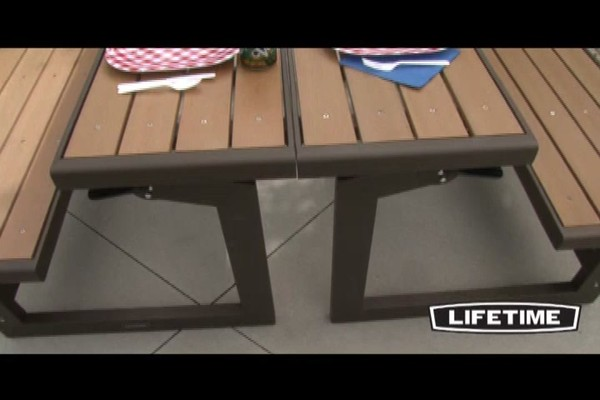 Lifetime Convertible Bench  Video Gallery