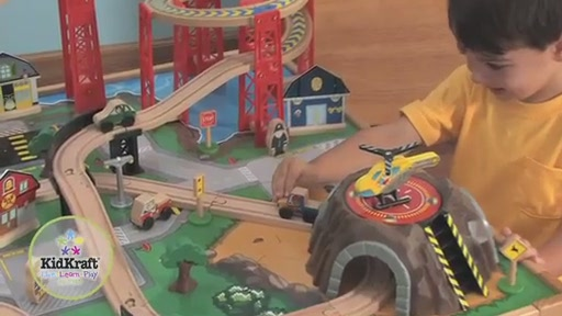 KidKraft Airport Express Train Set  Table  Video Gallery