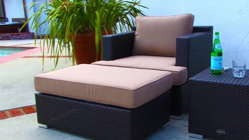 Niko Club Chair 3piece Set by Sirio  Patio  Lawn
