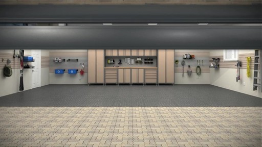 NewAge Products Metal Garage Cabinetry  Storage  Video