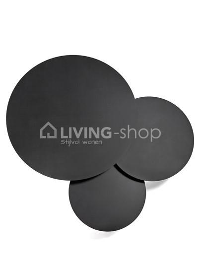 Rond zwart stalen salontafels van SERAX online kopen