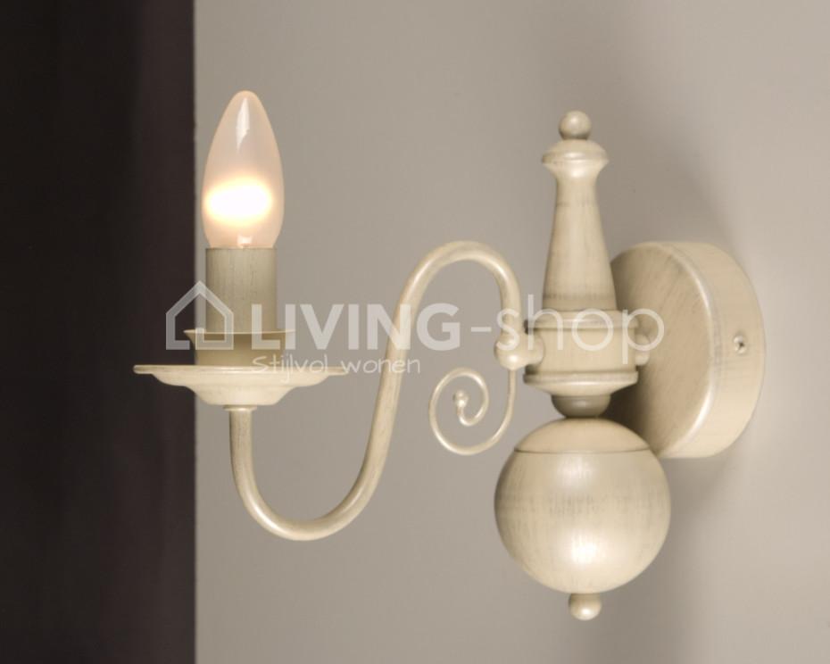 Wandlampen Brugge landelijke wandverlichting  LIVINGshop