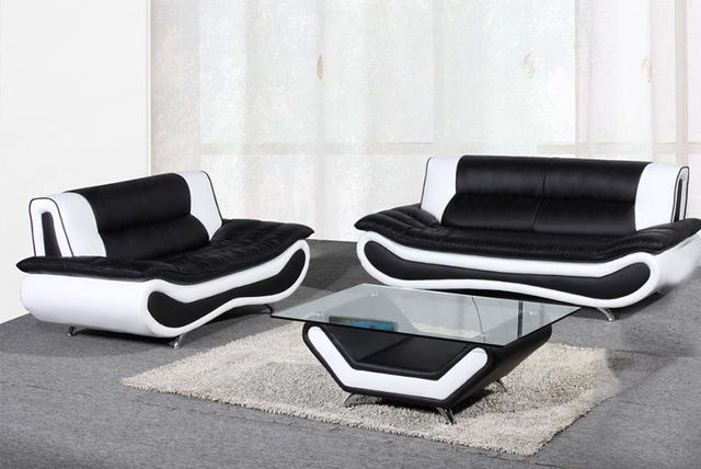 3 2 leather sofa set bed sleeper insert napoli faux colours shopping livingsocial