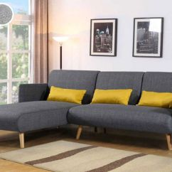 Los Angeles Sofas Buckingham Sofa Range Charcoal Grey Bed Chaise Futons Deals In Shopping Livingsocial