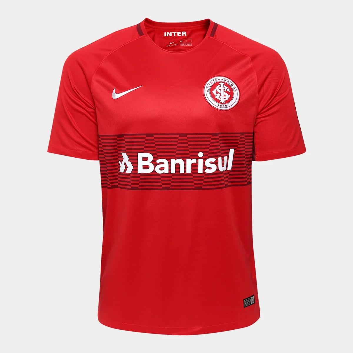 Camisa Internacional I 17 18 S N Torcedor Nike